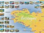La Bretagne région de découverte : plages, monuments, enclos paroissiaux...