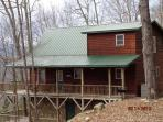 Bear Rock Chalet secluded on three private acres