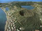 Panorama dei laghi dei Campi Flegrei