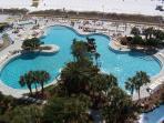 beautiful Edgewater Beach Resort landscaping