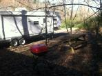 picture of a guest's 35' camper