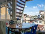 Top floor: open air with washing & drying machine