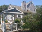 Shady Retreat Overlooks Large,  Private Back Yard