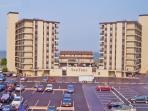 Building,City,High Rise,Parking,Parking Lot