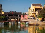 Hoi An ancient town- afew steps walking