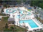 Lazy River, Kids pool; water activities, Adult pool, Jacuzzi, Snack bar