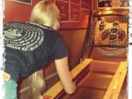 Vintage games room with skee ball & more