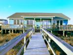 Ocean Front Cottage (Duplex) With Private Beach Access