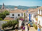 Le village d'Obidos
