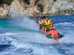 Watersport activites in Cala Canyelles