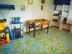 Kid's room! A fun and safe enviroment for kids to play and enjoy their time inside the house