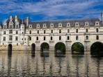 A must in the Loire valley: Chenonceau castle. Do not miss the canoe ride on the Loir river