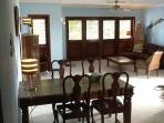 Bright, clean and spacious apartment with shutter doors for nice breeze through the apartment.
