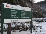 Kootenay National Park Gate