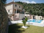 Luxury villa with private swimming pool and amazing sea views