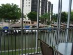 Canal yards from Inner Coastal Waterway-Your Lanai view!