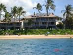 Our unit is the second floor right side, corner unit. The best located condo on Maui.