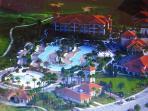 North village Pool & water-slide complex