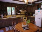 Kitchen & small table