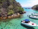 Ilha grande - Lagoa azul - 25 minutes by boat