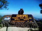 Phuruea nel parco nazionale all'altezza di 1300 mt.