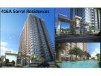 Sorrel Residences building and swimming pool