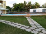 Huge adult & children swimming pools...