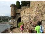 Promenade du chateau Mandelieu
