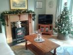 Cosy and warm at Christmas time