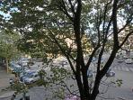 Vista con affaccio sul mercato di Porta Portese la Domenica
