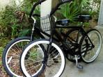 2 Free Bikes for you to use