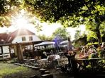 Restaurant Strandmøllekroen - 10 min walk.