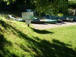 Location de barques auprès du gîte