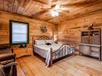 Master Bedroom Wears Valley Cabin Rentals