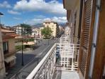 01 Il Centrale balcony on the main road