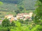 The small village of Colle di Compito
