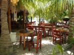 Explore the quaint restaurants in Akumal, just 5 minutes south of our villa