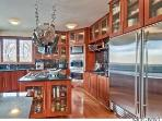 Fully equipped kitchen in main house has all the things a chef would want!