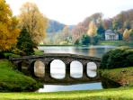 Close to the wonderful Gardens of Stourhead.  Magical to visit late or early when officially closed