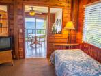4th Bedroom with ocean view and private bath. Newly renovated with trundle beds.