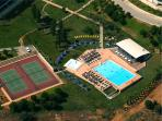 Tennis Courts, Bar and Swimming Pools
