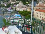 12 Casa Marina balcony on the beach