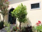 Olive press - entrance