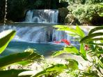 Our lovely falls to visit in Jamaica land of wood and water