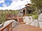 Large deck with amazing views