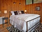 Master Bedroom with King bed and amazing views off of your private deck