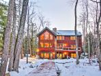 Escape to this spectacular lakefront Alton vacation rental home!