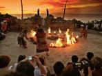 Check dance at one of the best temples in Bali (again local) Uluwatu - 15 mins from the villa