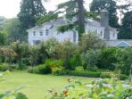 Relax in the walled garden of 'The Old Vicarage'.