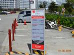 Parking rates for the 2nd vehicle ( FREE PARKING FOR 1 VEHICLE ONLY )